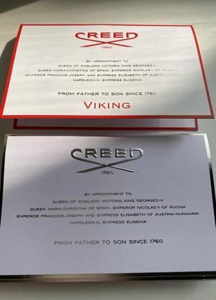 Сет  5 пробников creed!