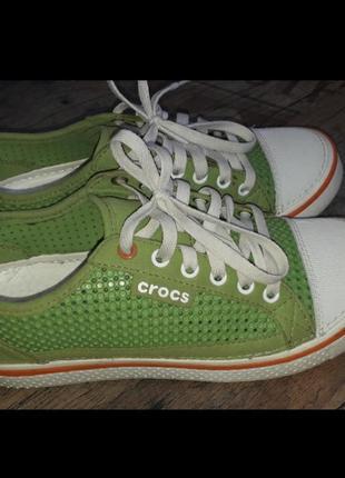 Crocs hover w10 m8 кеды 40 41
