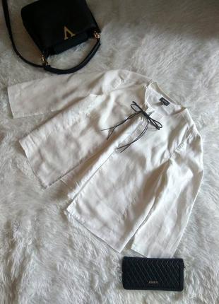 Брендовый пиджак,жакет . ткань натуральный лён
