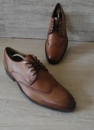Lasocki  туфлі кожаные туфли оксворды борги челси
