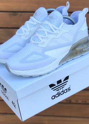 Кроссовки мужские adidas белые