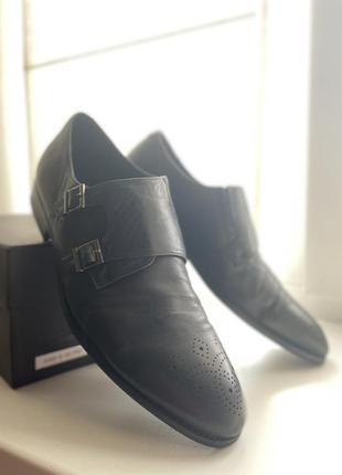 Мужские туфли miguel miratez | кожанные туфли | демисезонные