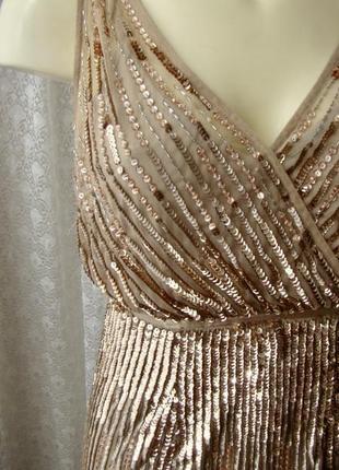 Эксклюзивное вечернее платье adrianna papell