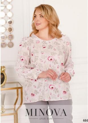 Блуза №2238-білий