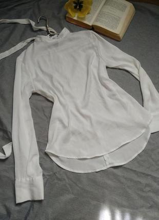Белая блузка mango