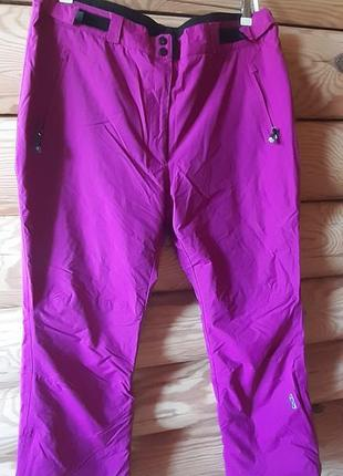 Женские лыжные, мембранные штаны