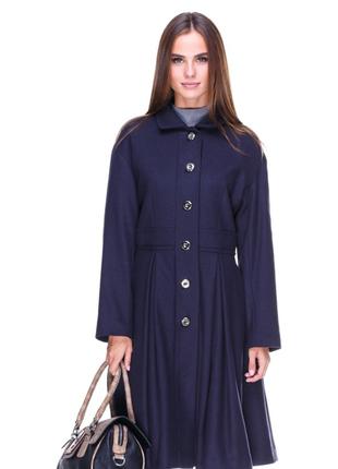 Дизайнерское  шерстяное осенне пальто