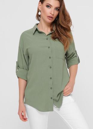 Женская рубашка (4 цвета)