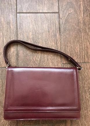 Кожаная деловая сумка