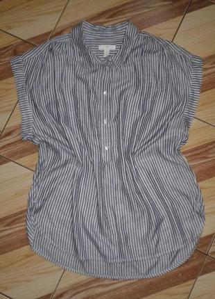 Тонкая полосатая блуза
