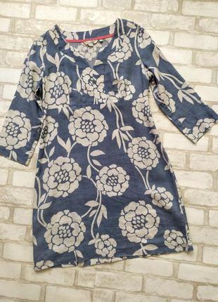 Шикарное платье boden 100% лен