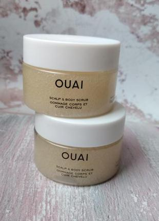 Скраб для волосся та тіла ouai scalp & body scrub