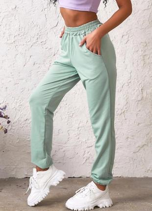 Женские брюки трикотажные