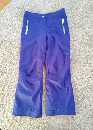Лыжные фиолетовые штаны obermeyer