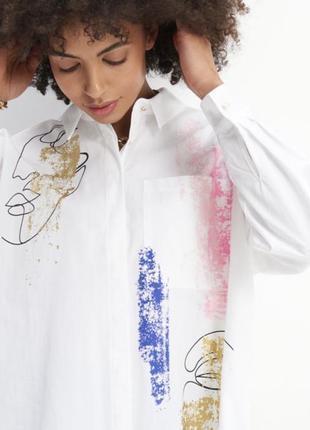 Стильна бавовняна сорочка mohito