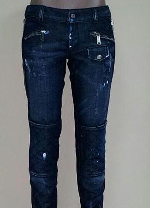 Стильные джинсы dsquared2 оригинал, италия, размер it 40-42