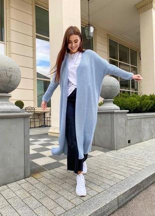Кардиган пальто оверсайз люкс качество шерсть8 фото