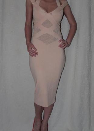 Платье бандажное christian dior оригинал италия! как nerve leger