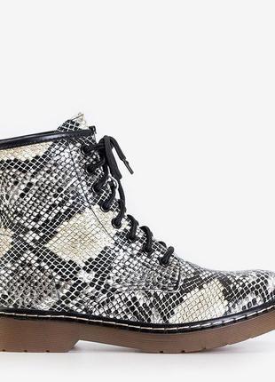 Питон ботинки женские1 фото
