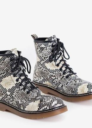 Питон ботинки женские2 фото