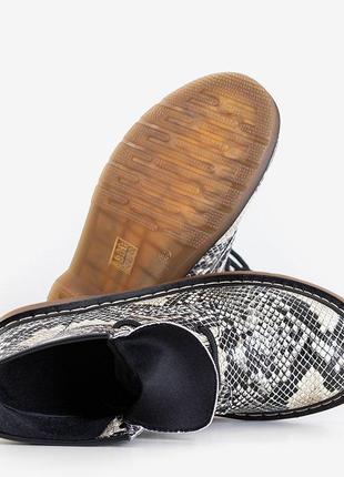 Питон ботинки женские3 фото
