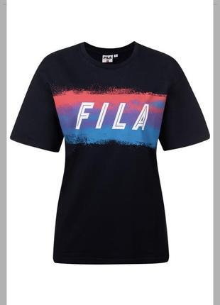 Новинка.  мега крутая футболка fila оригинал ! фила7 фото