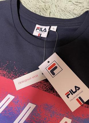 Новинка.  мега крутая футболка fila оригинал ! фила4 фото