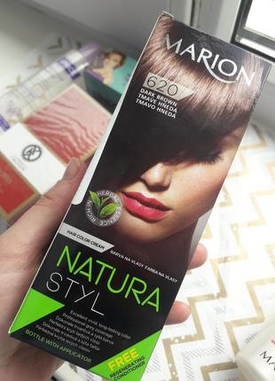 Краска для волос без амиака, фарба для волосся marion