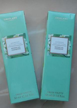 Женская туалетная вода women´s collection sensual jasmine орифлейм