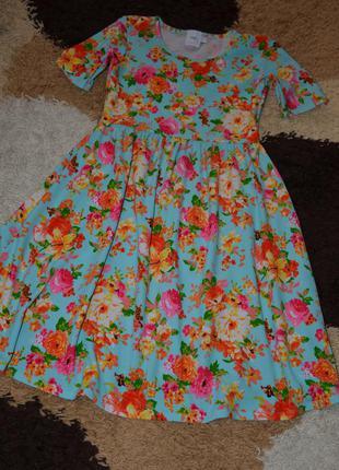 Невероятное платье для беременной в цветы от asos