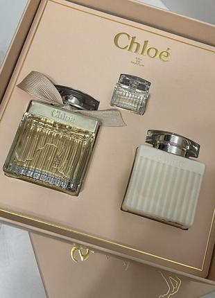 Набор chloé eau de parfum оригинал!