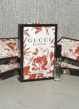 Gucci bloom пробник для женщин оригинал