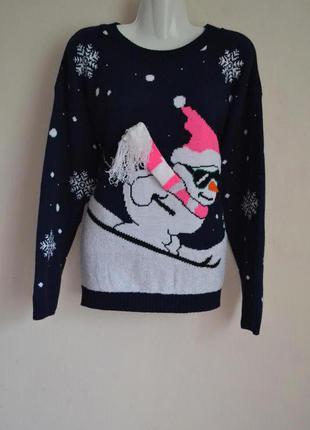 Новорічна кофта  светер новий рік