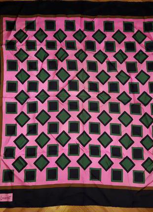 Винтажный шелковый платок от yves saint laurent!