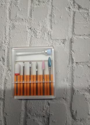 Фреза для манікюру нігтів набір фрез для ногтей маникюра фрезы