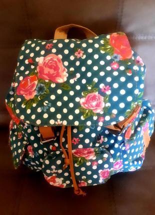 Красивый женский прогулочный рюкзак