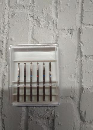 Фреза фрези для нігтів манікюру фрезы для ногтей маникюра набор фрез набір фрез
