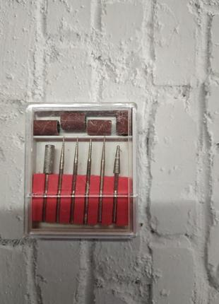 Фреза набір фрез для нігтів манікюру набор фрез для ногтей маникюра фрезы фрези