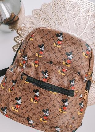 Рюкзак классный удобный, стильный эко кожа