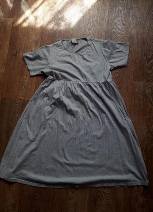 Платье оверсайз свободного кроя платье футболка
