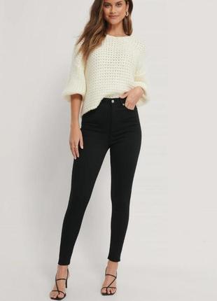 Чорні джинси скінні, джинсы скинни