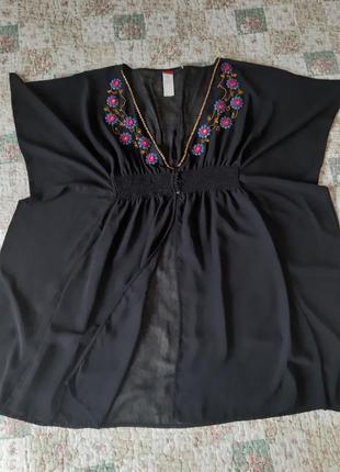 Накидка - блузка, літо