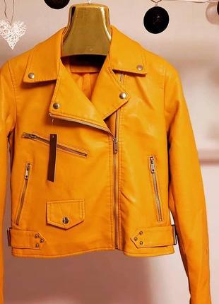 Куртка косуха эко-кожа