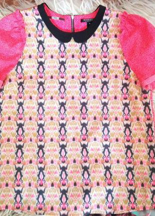Блузка с коротким рукавом maison scotch