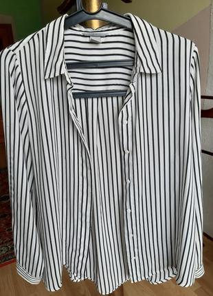 Сорочка блузка h&m