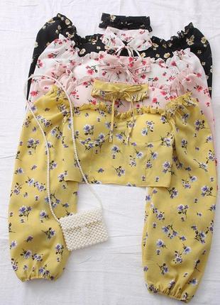 Кроп-блузка