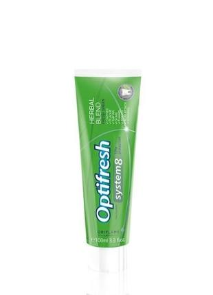 Зубная паста optifresh травяной комплекс