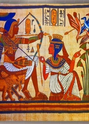 Картина текстильная гобелен настенный египет 3
