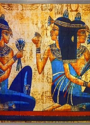 Картина текстильная гобелен настенный египет 4