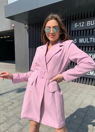 Женское платье-пиджак тренд 2021 ( люкс класса)